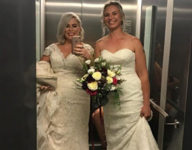 first same sex weddings