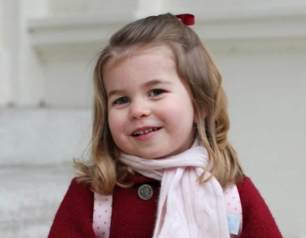 Princess Charlotte on her first day of nursery school