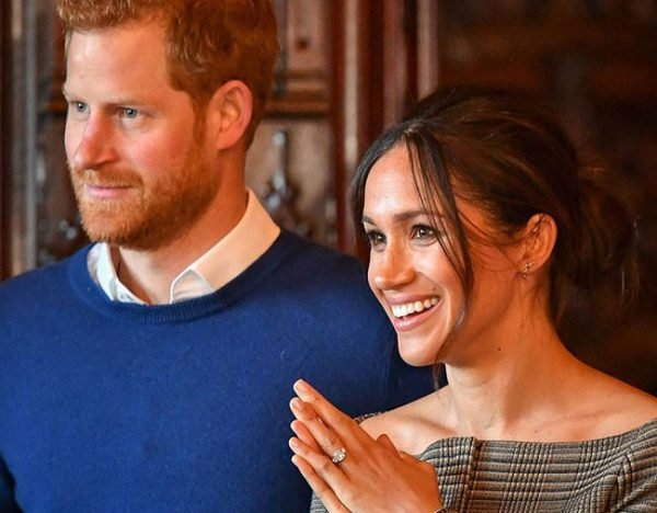 meghan markle prince harry smiling 2018