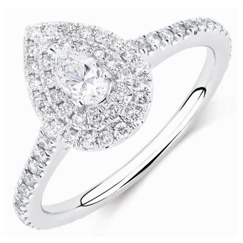 of wedding inspirational ring ideas engagement drop on best tear diamond teardrop pear rings