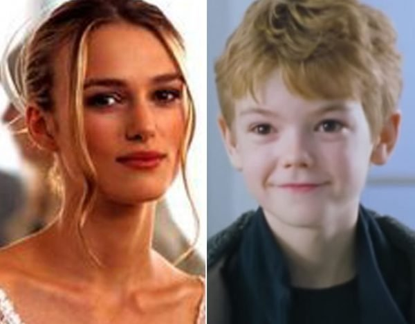 Thomas Brodie-Sangster Keira Knightley Love Actually