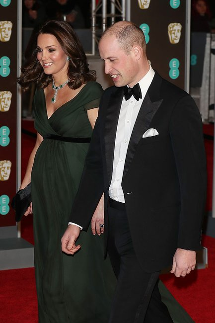 Kate and Wills BAFTAS 2018