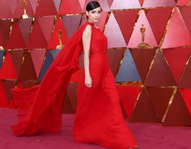 Sofia-Carson-90th-annual-academy-awards