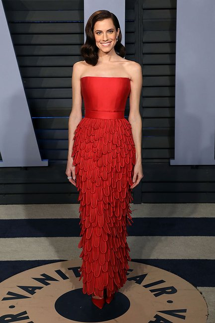 Allison Williams oscars after party 2018