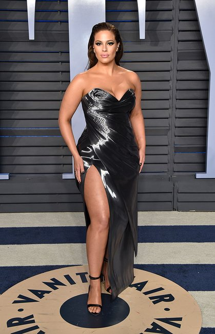 Ashley Graham oscars after party 2018