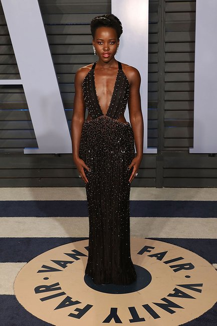 Lupita Nyong'o oscars after party 2018