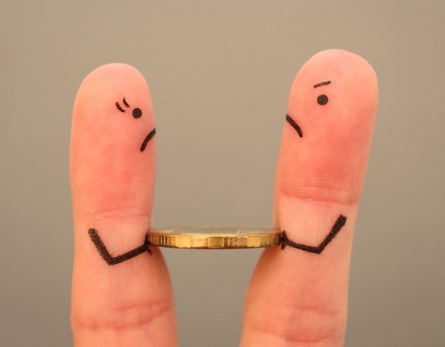 money fights in relationships