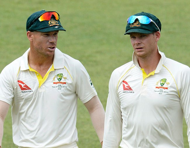 David Warner Steve Smith cricket