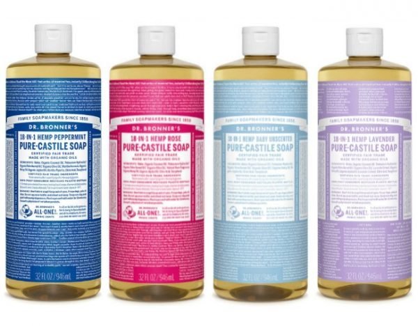 20 uses for Dr  Bronner's Castille soap for the body and home