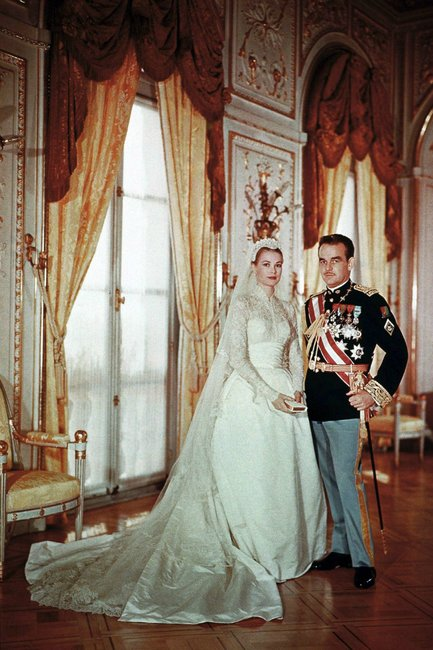 Prince-Rainier-and-Princess-Grace-Kelly-of-Monaco