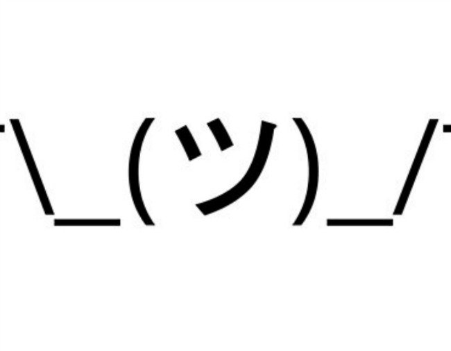 How to type shrug ¯\_(ツ)_/¯ IDK emoji on every platform