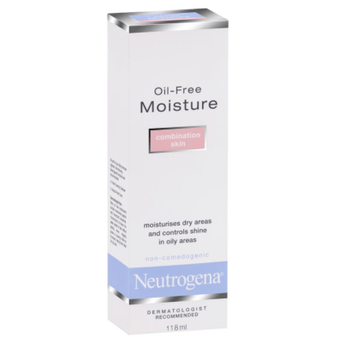 Neutrogena Moisturiser Combination Skin Oil Free