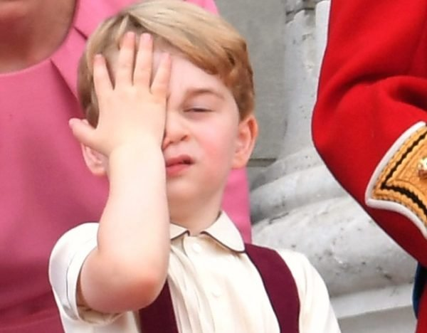 Royal baby name announced after website glitch Prince George