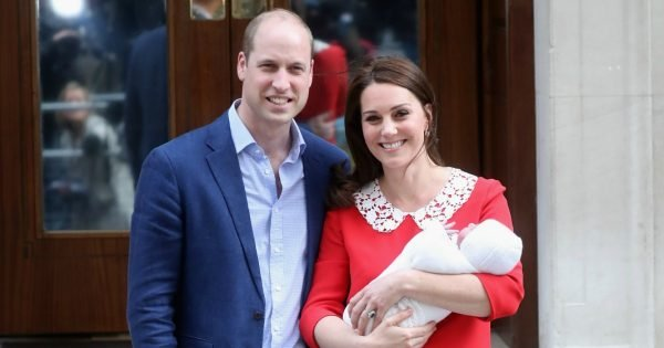 Prince William, Kate Middleton & Prince Louis