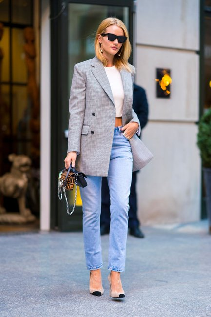 blazer street style fashion week