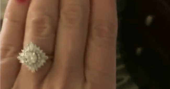 Engagement Ring Penis Photo The Pic Shows Off More Than Just Her Ring