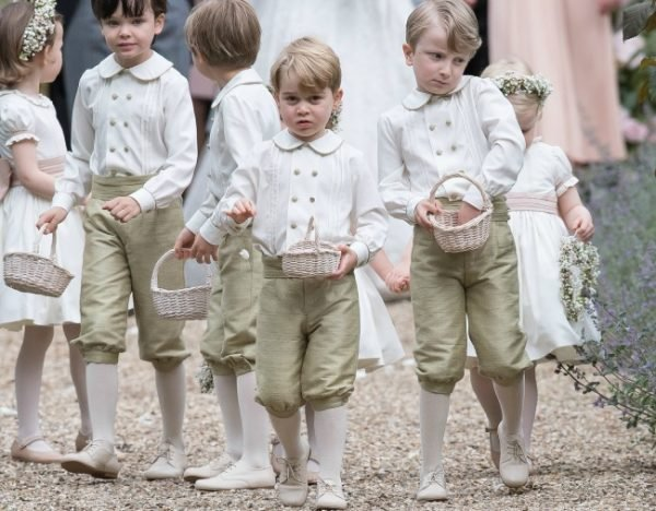Prince George Pippa Middleton's wedding