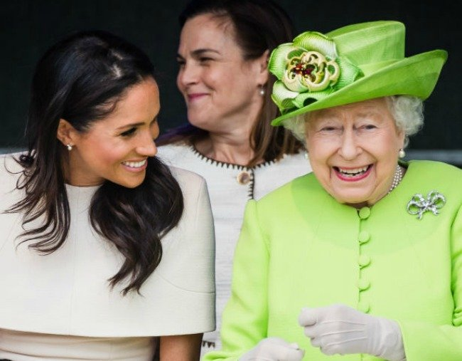 What does Meghan Markle call the Queen