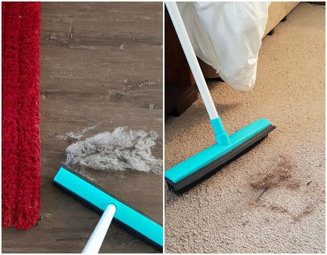 The Best Kmart Hack Is A 6 Kmart Rubber Broom And Yes