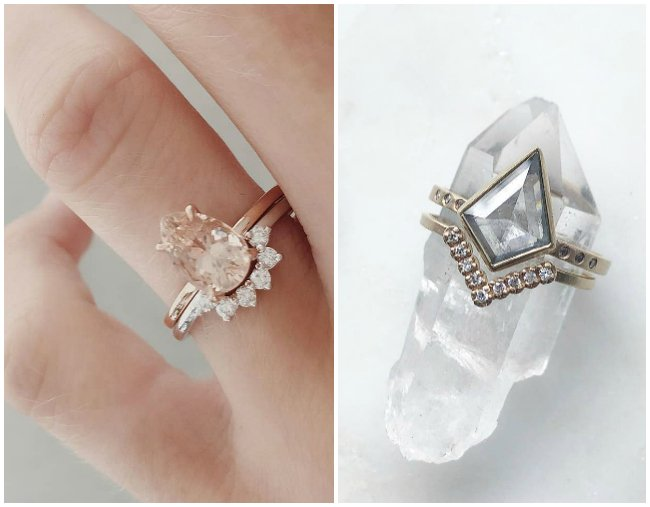 de2932b306d073 39 stunning engagement rings in every style, cut and colour to help you  decide.