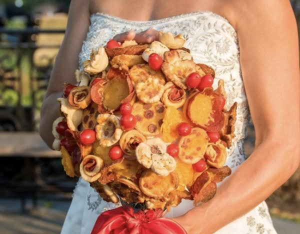 This is one of the most bizarre wedding bouquet trends of 2018