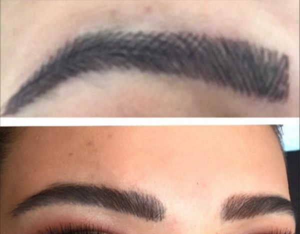Microblading gone wrong
