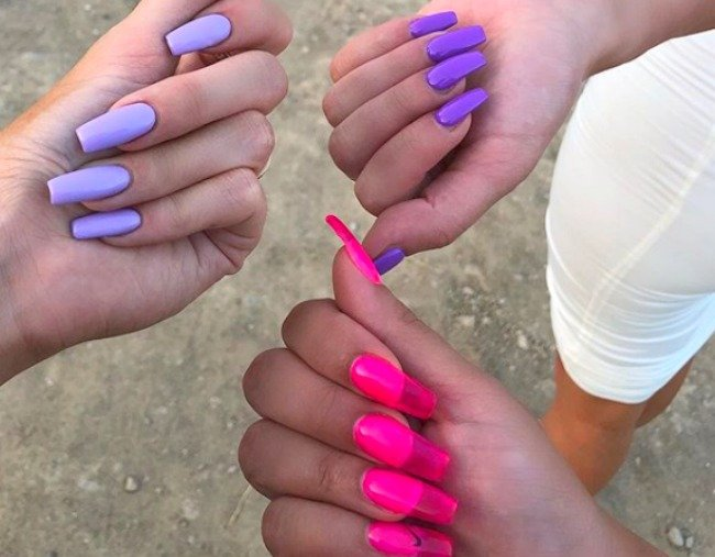 How to do jelly nails Kylie Jenner\u0027s funkiest new nail trend.