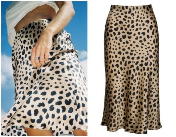 3321a040ac4ce0 Everybody will be wearing this silk midi skirt this summer. Shop one ...