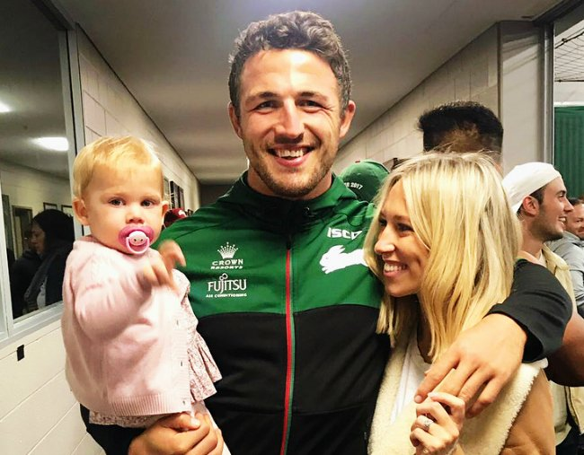 Sam Burgess Wife