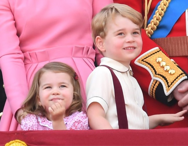 041e9c589 The big mistake Prince George and Princess Charlotte's wedding outfit  designer made.