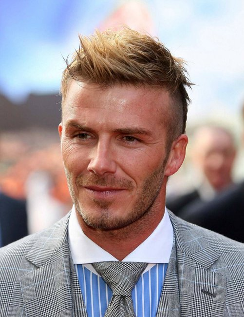 David Beckhams Hair Has People Divided Heres What Everyones Missing