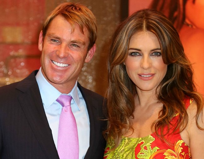 Shane Warne shares why he split from Liz Hurley in new book.