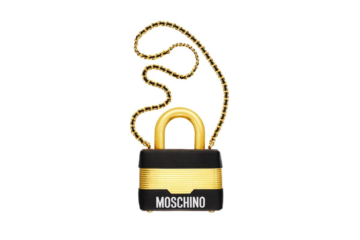 moschino-gold-lock-bag
