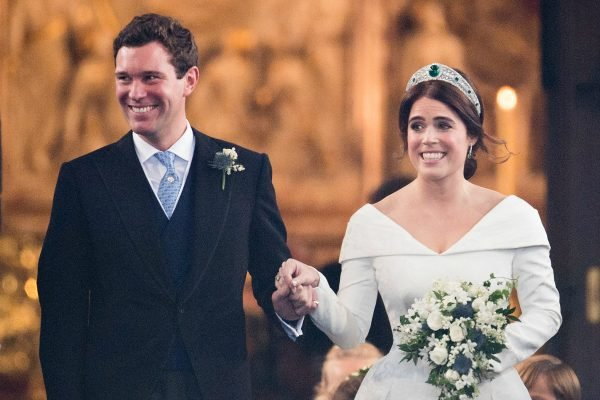 princess eugenie wedding highlights