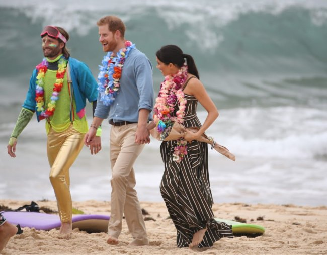 prince harry meghan markle bondi beach
