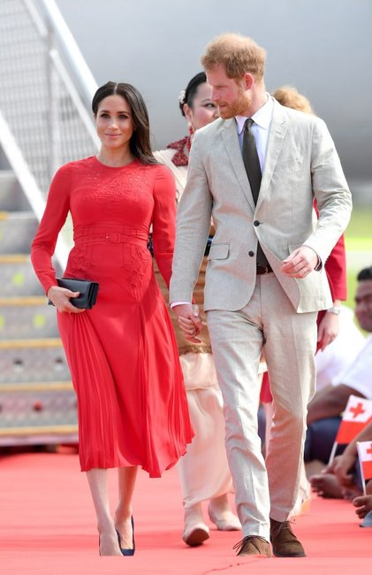 The Duke And Duchess Of Sussex Visit Tonga - Day 1