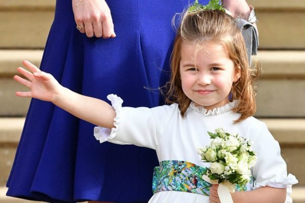 The adorable way Princess Charlotte is following in her big brother's footsteps.