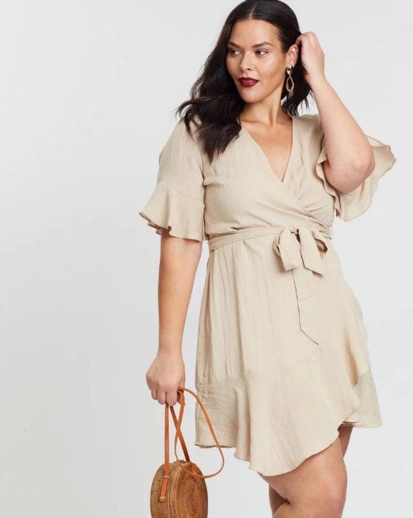 Atmos&Here Alexandria Wrap Dress