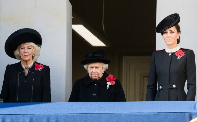 camilla, the queen, kate middleton
