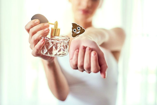Poo in perfume: An ingredient in some perfumes is also found in poo
