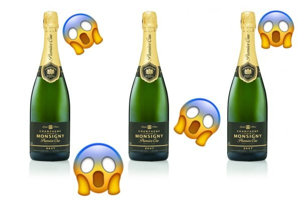 PSA: ALDI is selling a 750ml bottle of *real* champagne for $25. Not a drill.