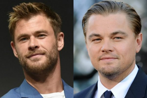 chris hemsworth and leonardo dicaprio