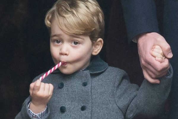 prince george candy cane