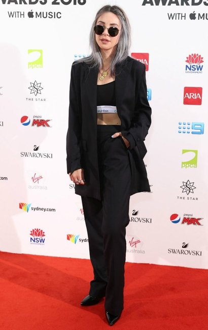 ARIA Awards 2018 red carpet Alison Wonderland