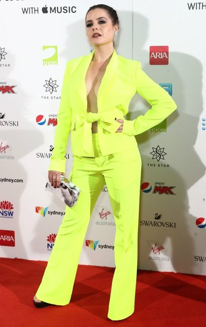 ARIA Awards 2018 red carpet Chloe Bayliss