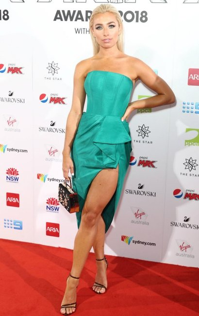 ARIA Awards 2018 red carpet Cassidy McGill