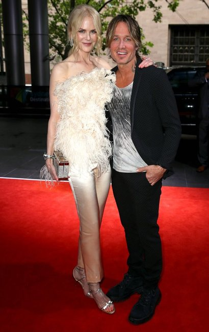ARIA Awards 2018 red carpet Nicole Kidman and Keith Urban