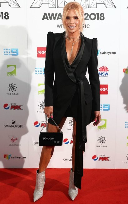 ARIA Awards 2018 red carpet Sonia Kruger