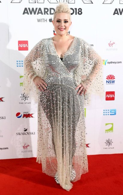 ARIA Awards 2018 red carpet Katie Noonan