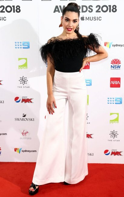 ARIA Awards 2018 red carpet Tori Wade